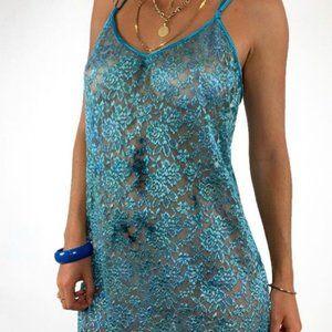 Vintage Delicates Floral Slip Dress